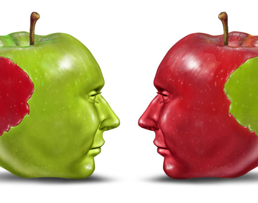 equal apples